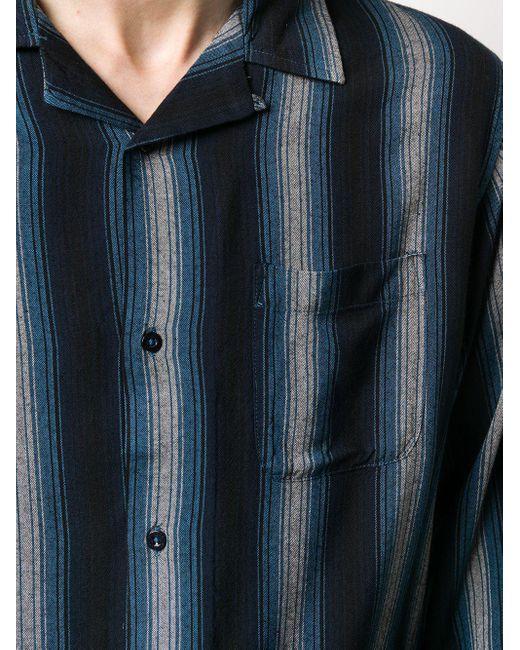 Camicia a righe di Stussy in Blue da Uomo