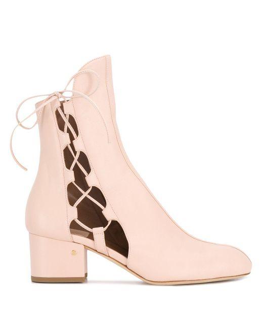 Ботильоны С Вырезами Laurence Dacade, цвет: Pink