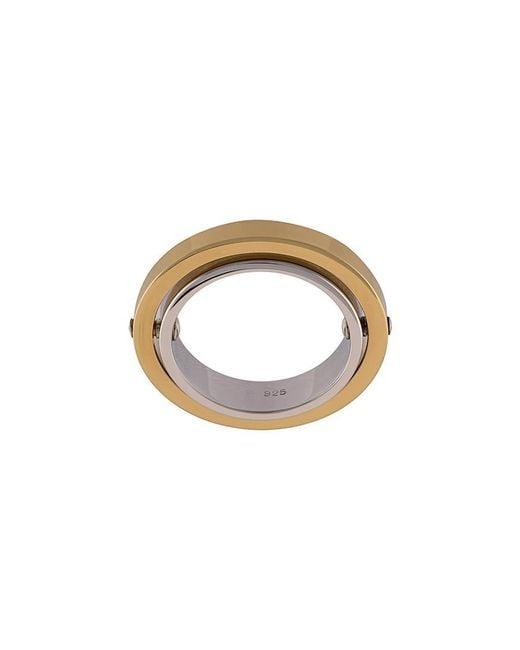 Charlotte Chesnais | Metallic Double Band Ring | Lyst