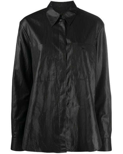YMC オーバーサイズ シャツ Black