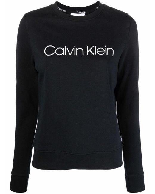 Calvin Klein ロゴ プルオーバー Black