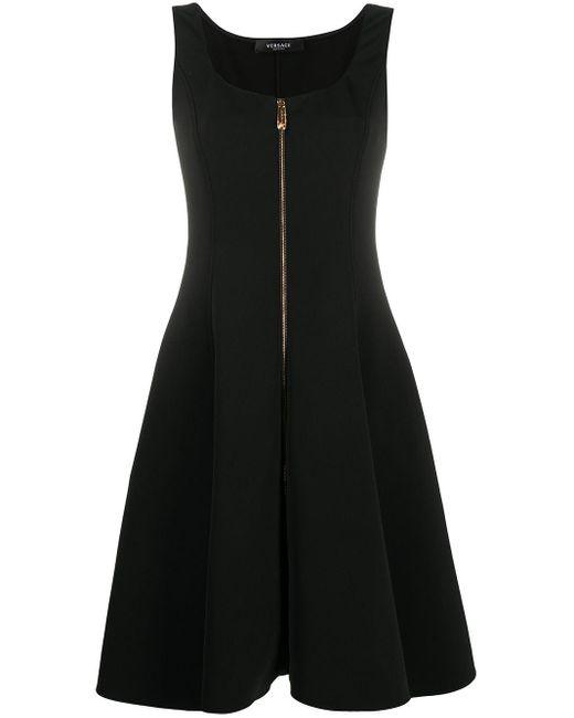 Платье С Квадратным Вырезом Versace, цвет: Black