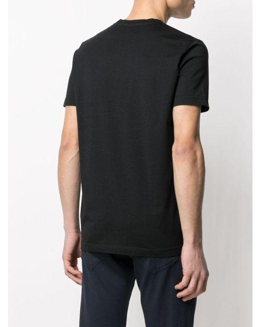メンズ Dondup ロゴ Tシャツ Black