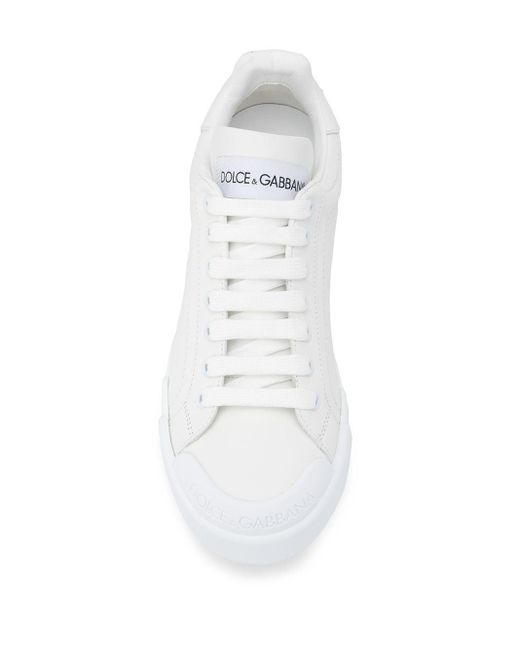Кроссовки Portofino Dolce & Gabbana, цвет: White