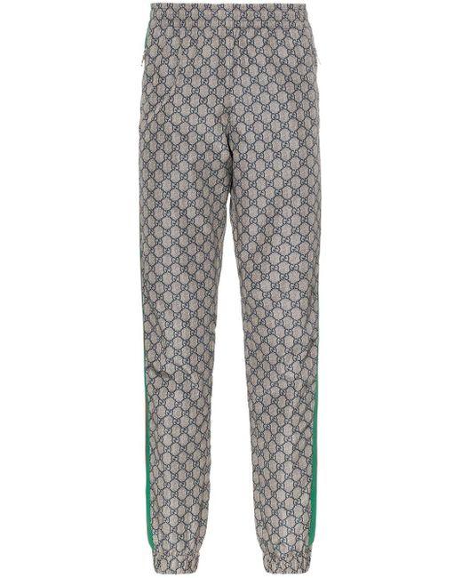 Gucci Jogginghose mit Logo in Gray für Herren