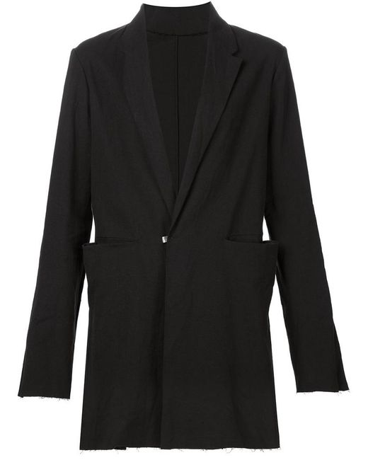 Ma+ - Black Long Blazer for Men - Lyst