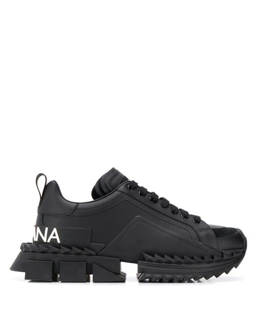 Dolce & Gabbana - Black Super King Sneakers for Men - Lyst