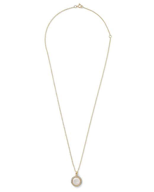 Ippolita Lollipop ダイヤモンド&トパーズ ネックレス 18kイエローゴールド Metallic