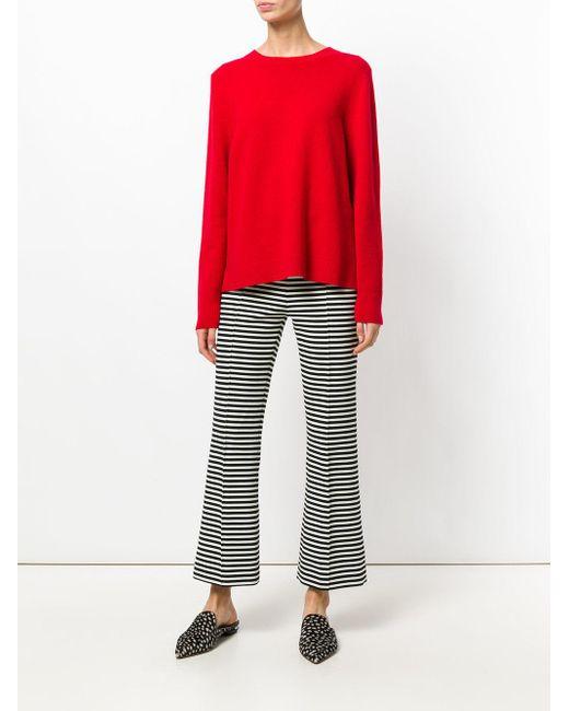 Jersey con dobladillo drapeado Chinti & Parker de color Red