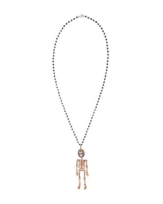 Amedeo - Metallic 'skeledeo' Necklace - Lyst