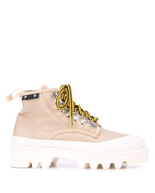 Proenza Schouler Lug Sole Boots Multicolor