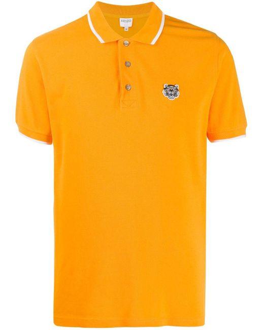 メンズ KENZO タイガー ポロシャツ Multicolor