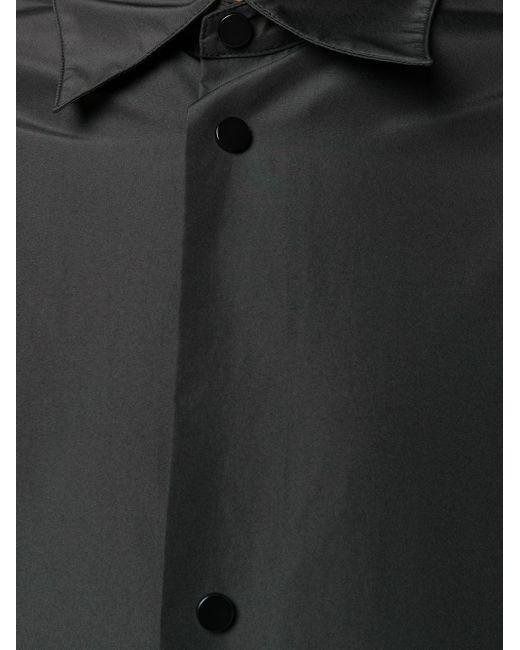 Плащ Длины Миди Bottega Veneta для него, цвет: Black