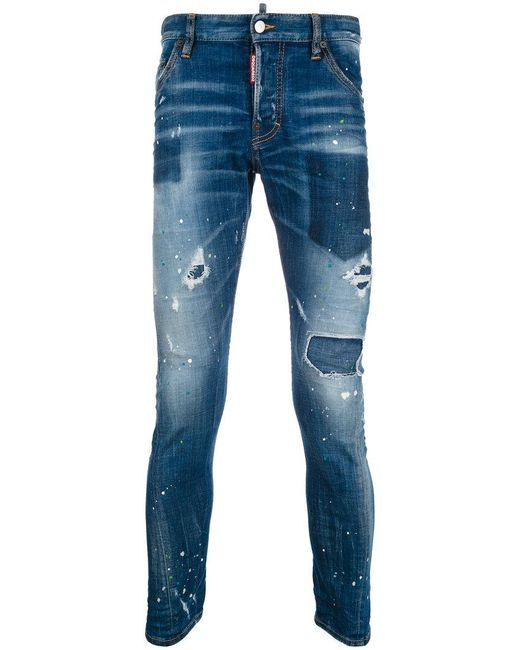 DSquared² - Blue Sexy Twist Jeans for Men - Lyst