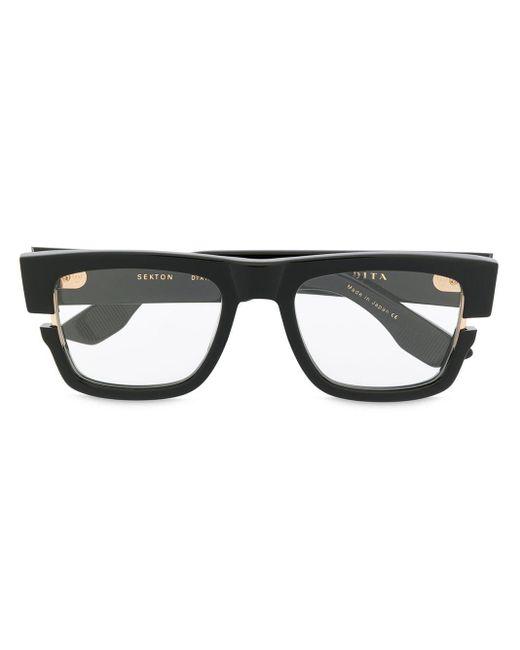 Lunettes de vue à monture carrée Dita Eyewear pour homme en coloris Black