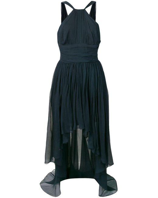 Stella McCartney ホルターネック ドレス Blue