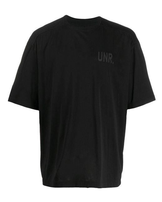 メンズ Unravel Project Cdg Lax Tシャツ Black