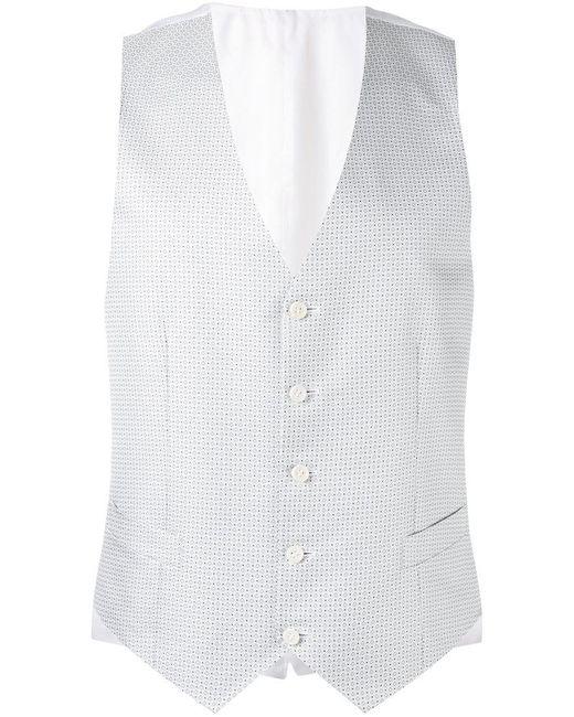 Canali | Multicolor Micro Design Waistcoat for Men | Lyst