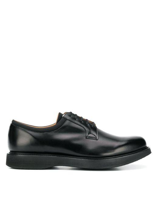 Church's Black Brandon Derby Shoes for men