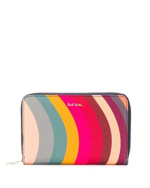 Paul Smith レインボーストライプ 財布 Multicolor