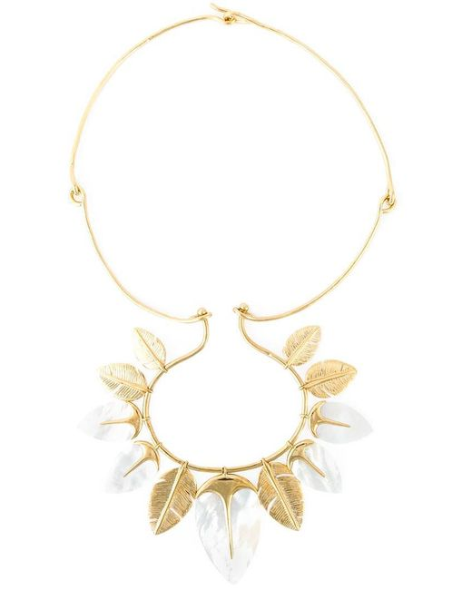 Aurelie Bidermann | Metallic 'talitha' Necklace | Lyst