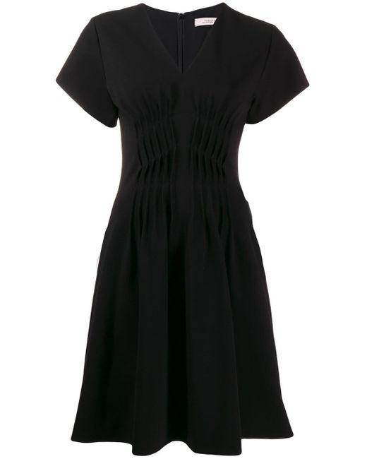 Dorothee Schumacher フレア ショートドレス Black