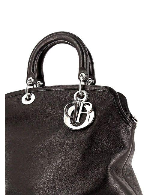Dior プレオウンドgranville ハンドバッグ Black