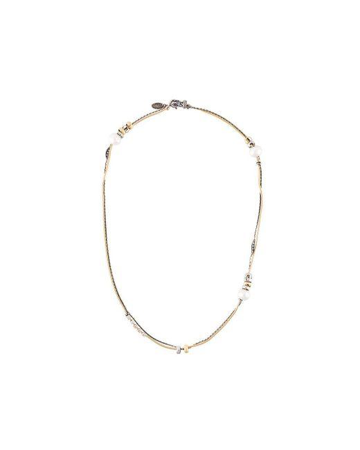 Iosselliani Silver Heritage パールネックレス Metallic