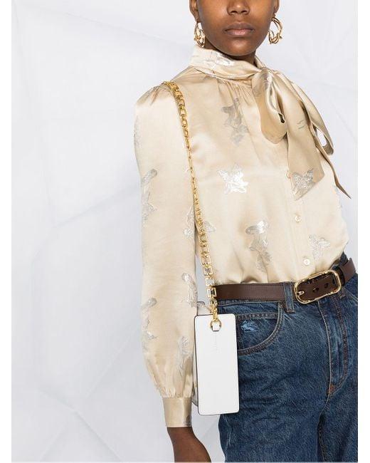 Блузка С Цветочным Принтом Tory Burch, цвет: Multicolor