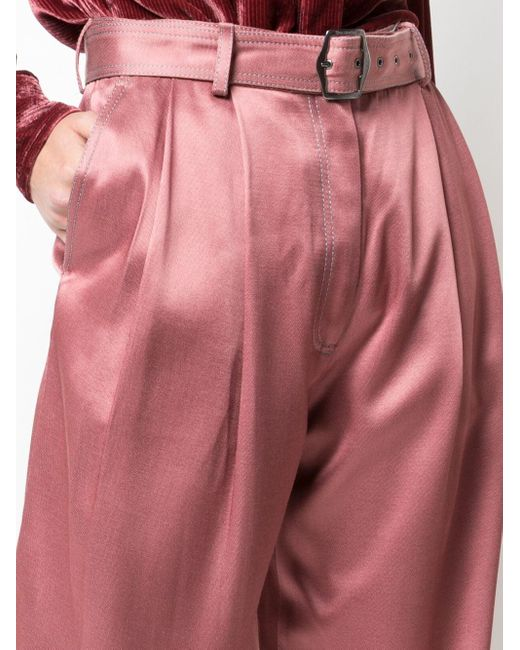 Sies Marjan Blanche サテンパンツ Pink