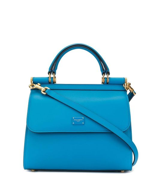 Dolce & Gabbana Sicily ハンドバッグ S Blue