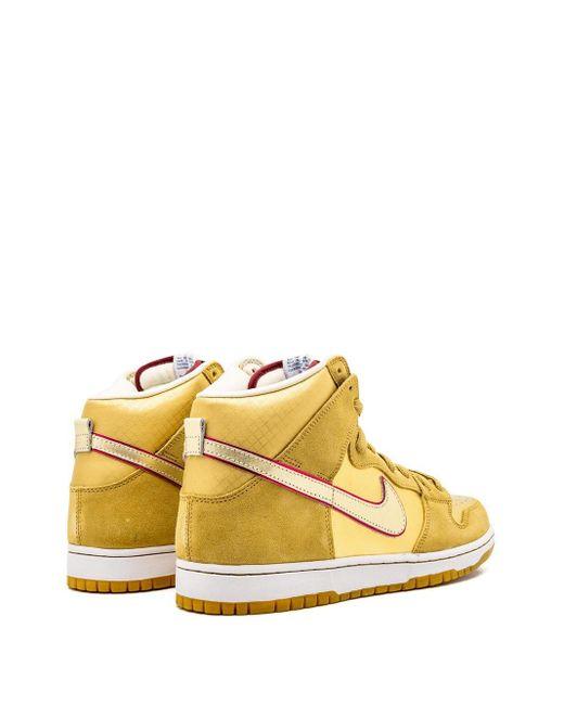 メンズ Nike Dunk High Premium Sb スニーカー Yellow