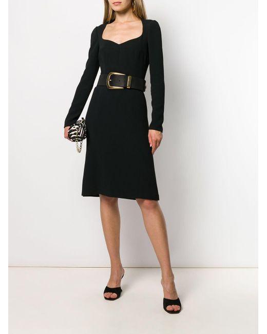 Платье Миди Cady Dolce & Gabbana, цвет: Black