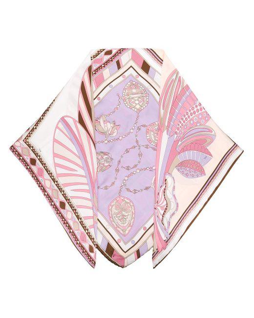 Топ С Искусственным Жемчугом Emilio Pucci, цвет: Pink