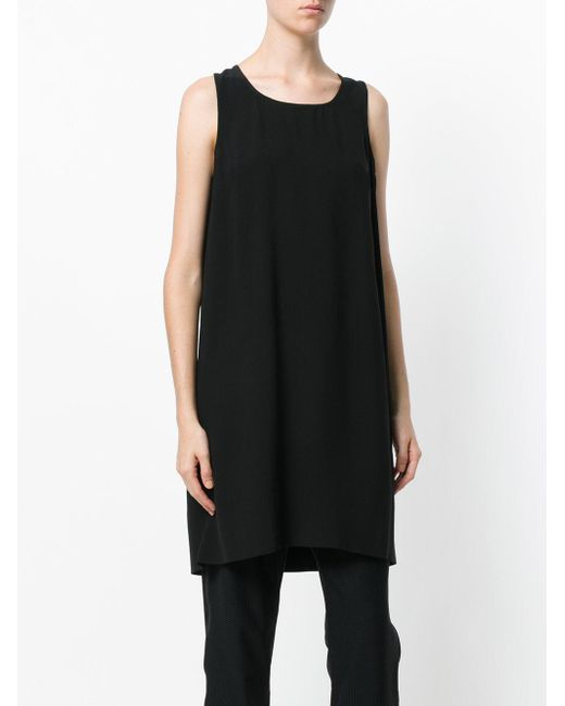 Rick Owens Black Langes Top