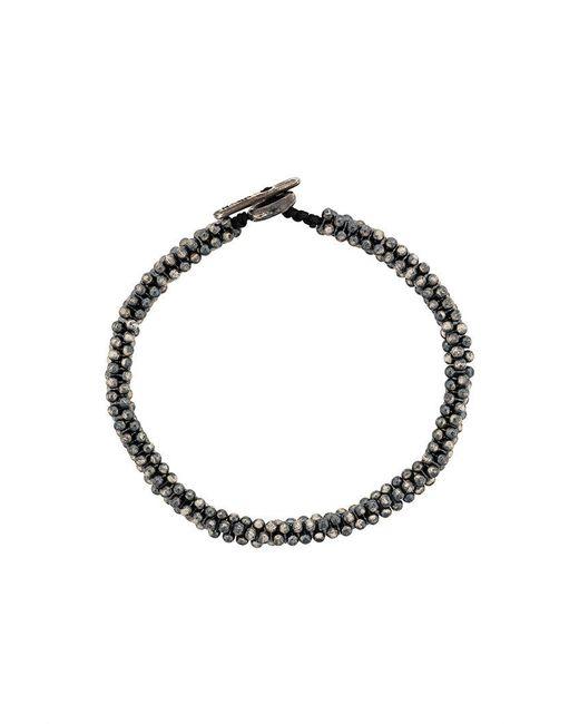 M. Cohen - Metallic Beaded Bracelet - Lyst