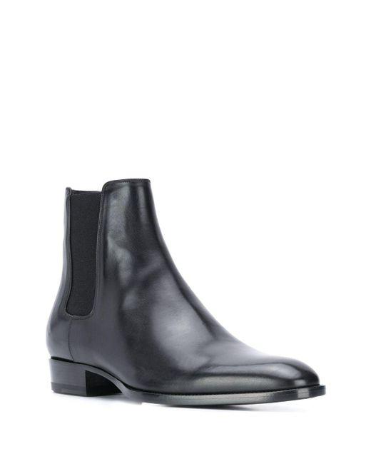 Ботинки Челси Cole Saint Laurent для него, цвет: Black