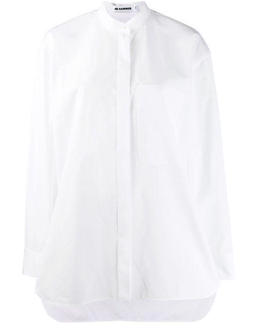 Jil Sander オーバーサイズ シャツ White