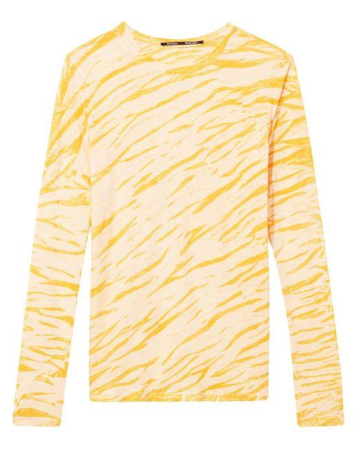 Proenza Schouler プリント ロングtシャツ Yellow