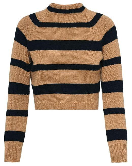 Miu Miu ストライプ セーター Multicolor