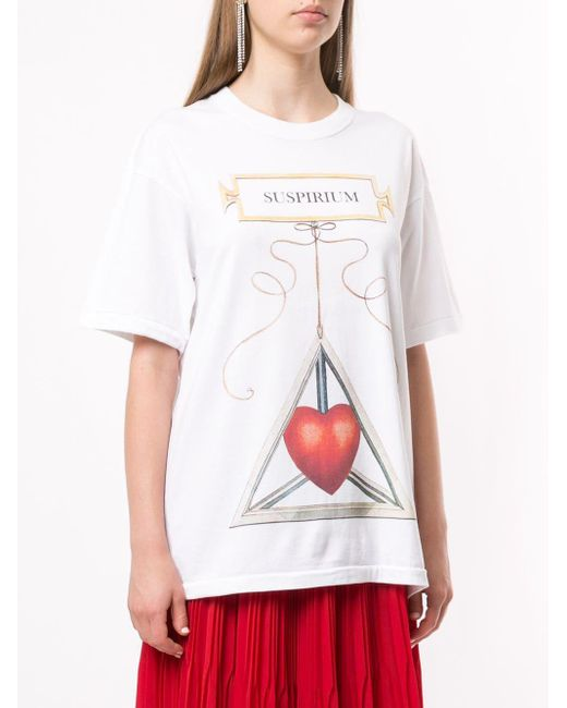 Undercover プリント Tシャツ White