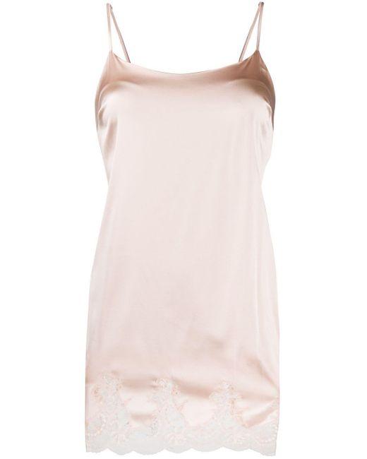 Комбинация С Кружевным Подолом Fleur Of England, цвет: Pink