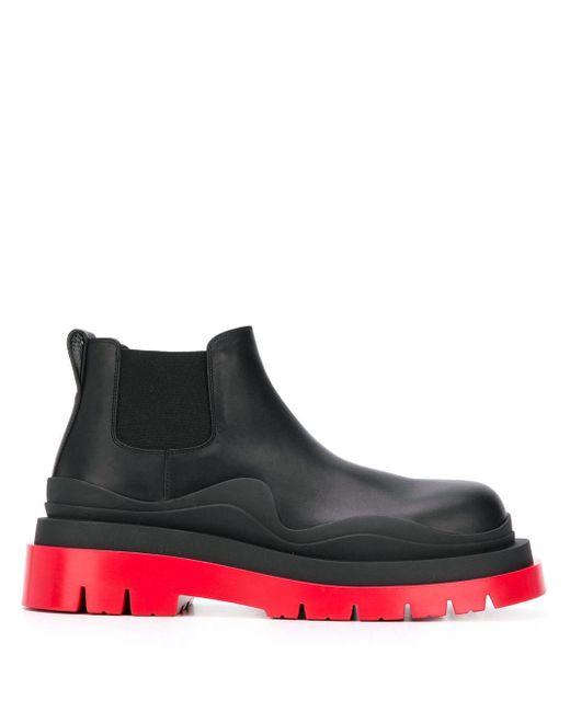 Ботинки Bv Tire Bottega Veneta для него, цвет: Black