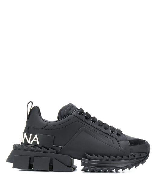 Dolce & Gabbana プラットフォーム スニーカー Black