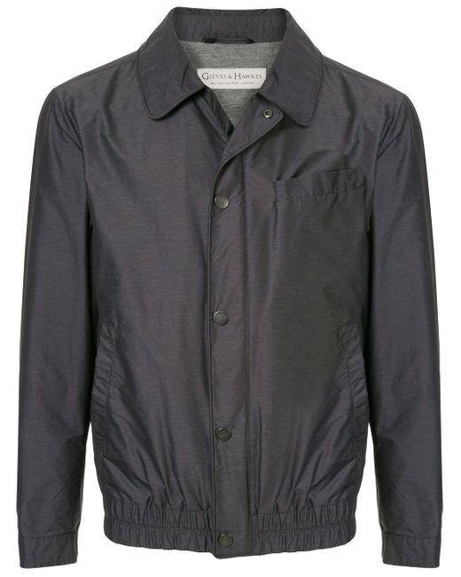 メンズ Gieves & Hawkes ライトジャケット Gray