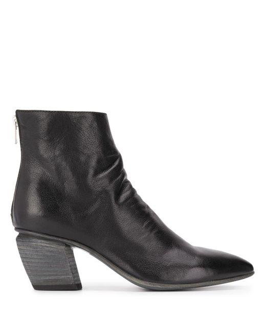 Officine Creative Severine Ankle Boots Black