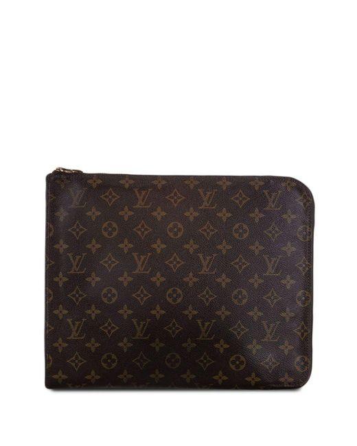 Папка Для Документов Poche Document Pre-owned С Монограммой Louis Vuitton, цвет: Brown