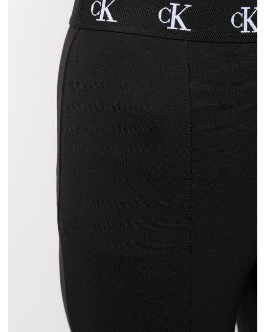 Calvin Klein ロゴ レギンス Black