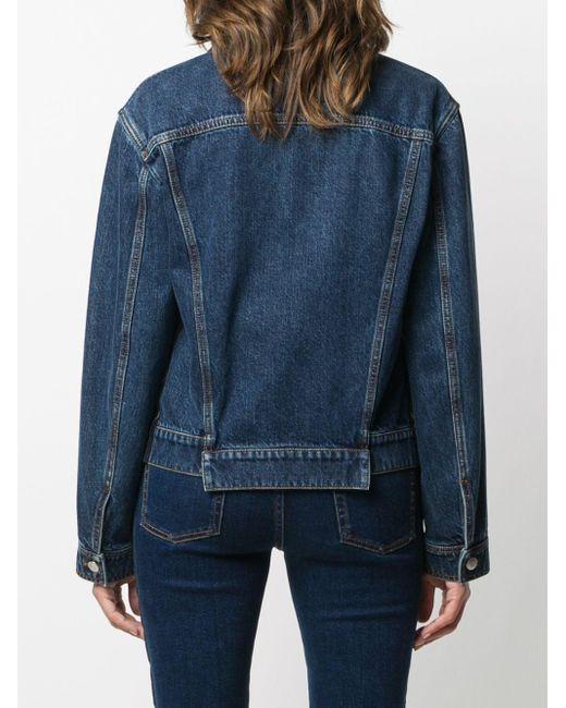 Спортивная Куртка С Контрастными Полосками Alexander McQueen, цвет: Blue