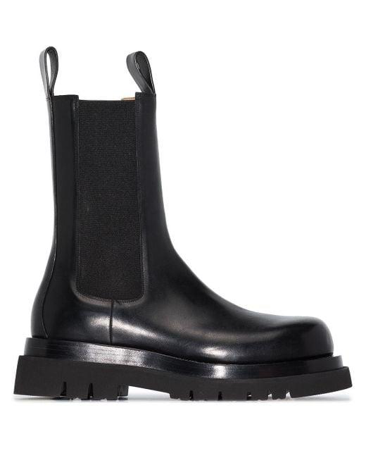 Ботинки The Lug Bottega Veneta для него, цвет: Black